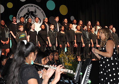 Northern Dancer Opening - Choir