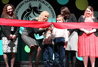 Northern Dancer Opening - Ribbon cutting