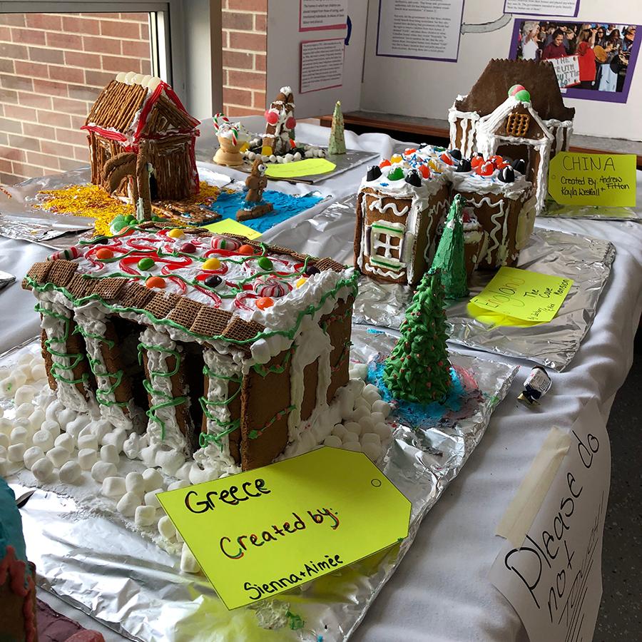 Eastdale CVI - Gingerbread Houses