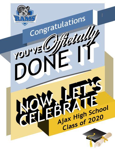 Graduation Poster Class of 2020