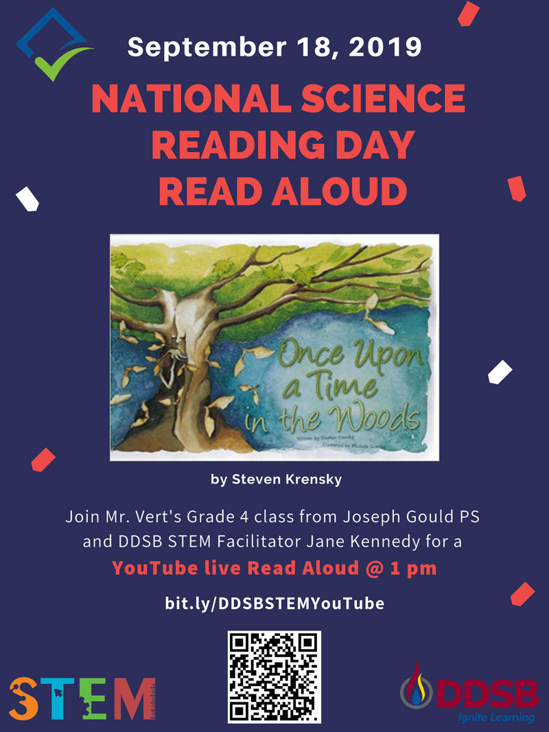 National Science Reading Day poster